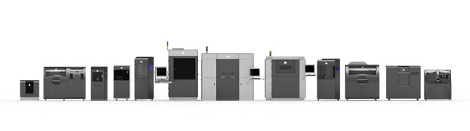 3D systems machines